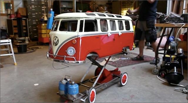 Volkswagen BBQ Bus