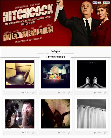 Hitchcock - Instagram Hitchshots