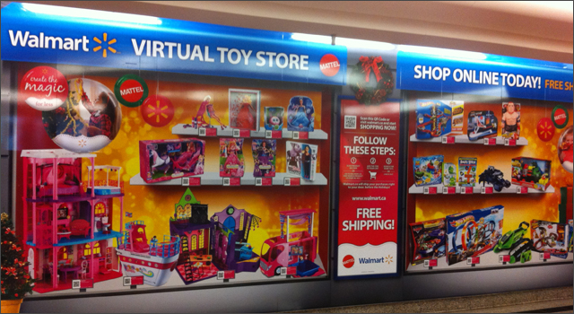 Walmart Mattel Virtual Toy Store