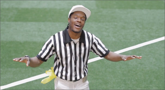 Red Stripe Ref Makes Official Call on VW Ad