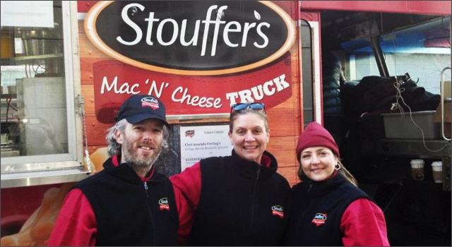 Stouffer's Mac 'n' Cheese Truck