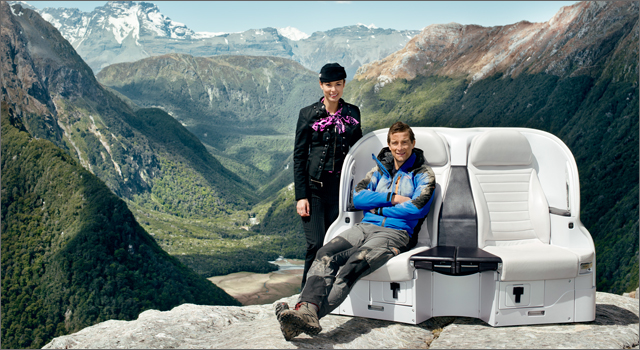 Air New Zealand - Bear Grylls Pre-Take-off Safety Video