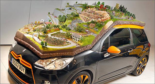 Citroen WRC Diorama
