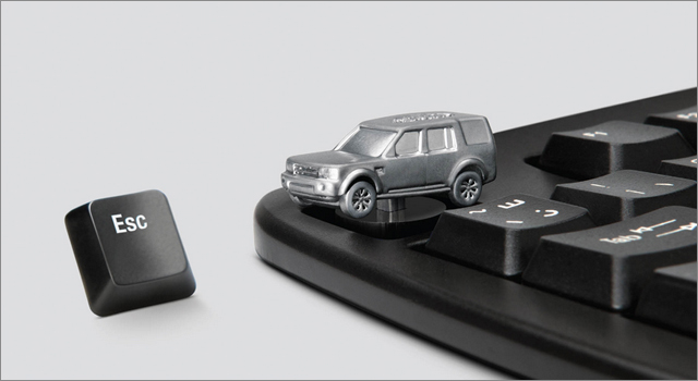 Land Rover - Escape Keyboard Key