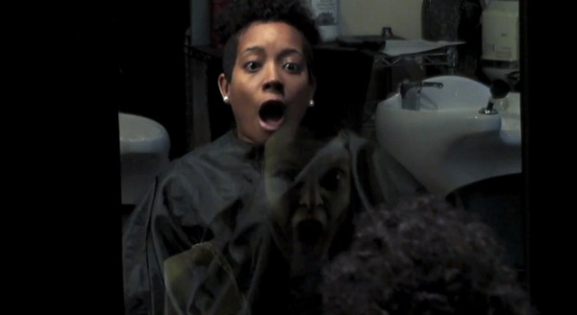The Last Exorcism Part II - Hair Salon Stunt