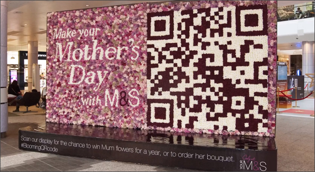 Marks &amp; Spencer - Blooming QR Code