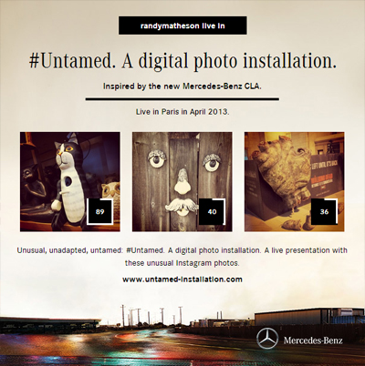 Mercedez-Benz #Untamed Instagram Exhibit
