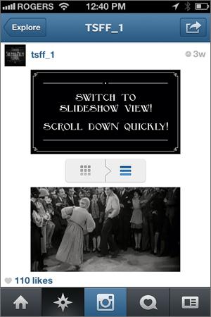 Toronto Silent Film Festival - Instagram