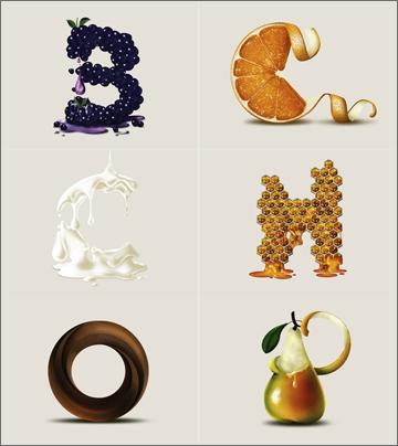 Ballantine's Whisky Typeface