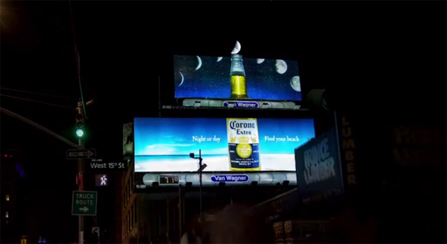 Luna Corona - Crescent Moon Billboard