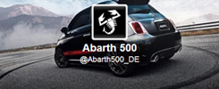 Fiat Abarth 500 - Too Fast to Follow on Twitter