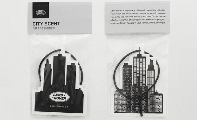 Land Rover - City Scent