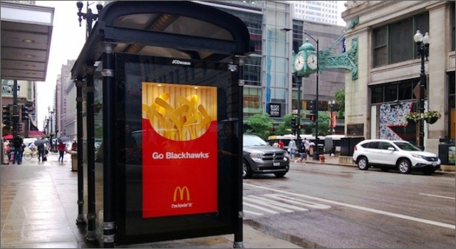 McDonalds - Go Blackhawks
