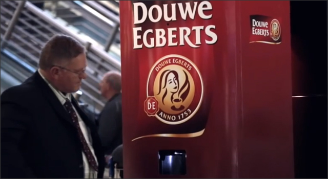 Douwe Egberts- Yawn Recognition Coffee Machine