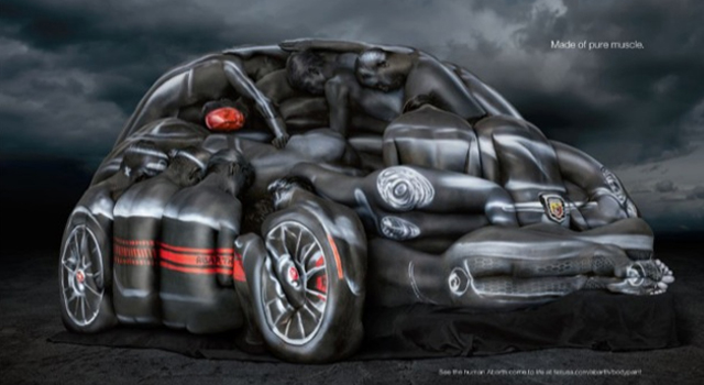 Fiat 500 Abarth - Body Paint