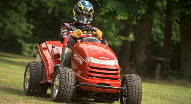 Honda UK & Top Gear Mean Mower