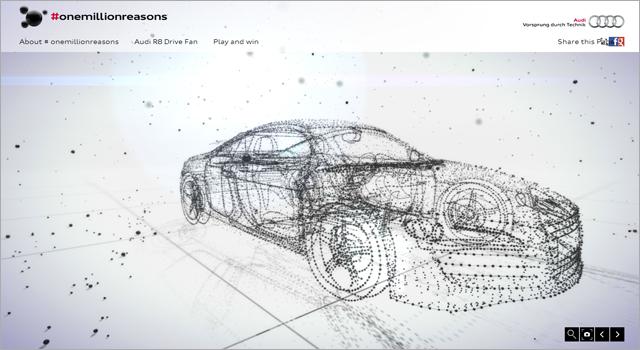Audi - #OneMillionReasons