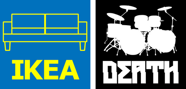 Gatesman + Dave - Ikea product name or Death Metal band name