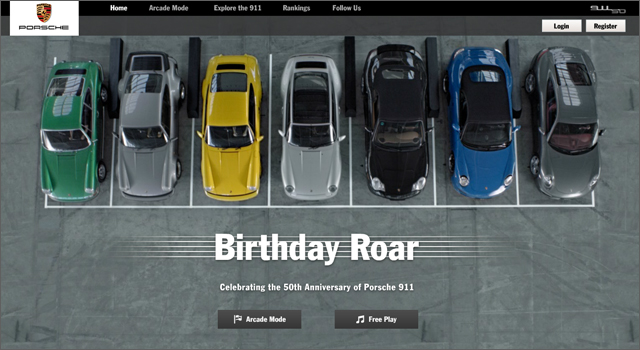Porsche 911 Birthday Roar
