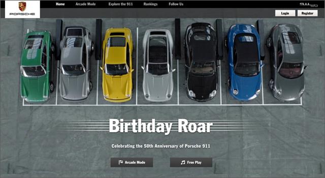 Porsche 911 Birthday Roar