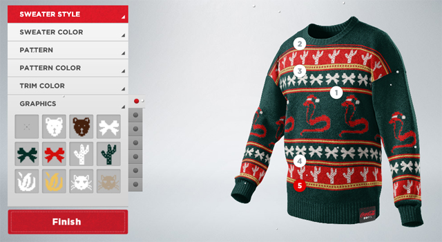 Coke Zero - Ugly Sweater Generator
