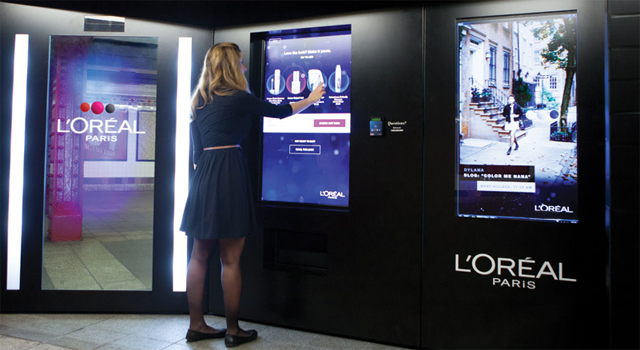 L'Oreal Paris - Intelligent Color Experience Vending Machine