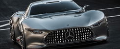 Mercedes's AMG Vision Gran Turismo 1:1 Scale Model designed for Gran Turismo 6
