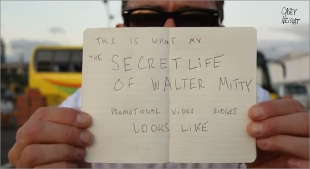 "Casey Leistat uses ""Life of Walter Mitty"" Promo Budget for Philippines relief"