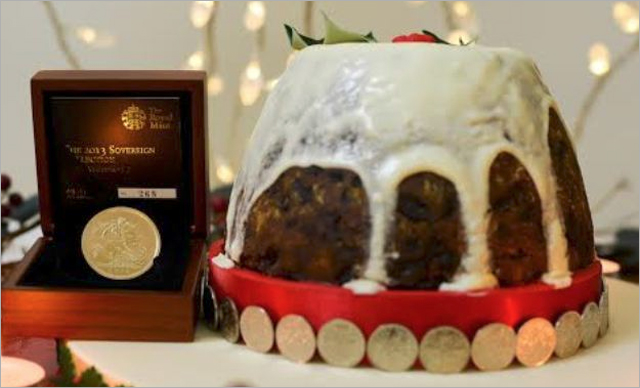 Royal Mint Commissions £12,000 Christmas Pudding