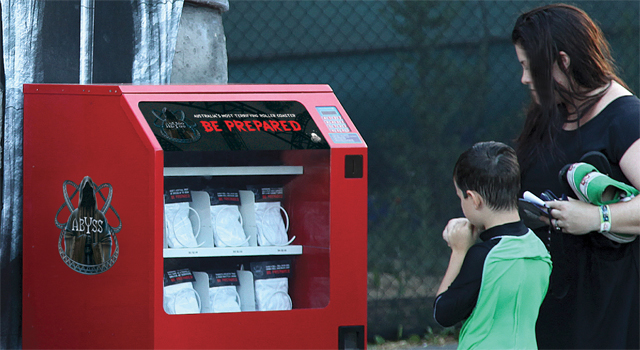 Abyss - Adventure Park Undies Vending Machine