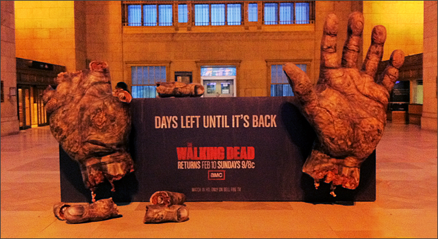 walking dead amc sweepstakes amc celebrates return of the walking dead with zombie 4190